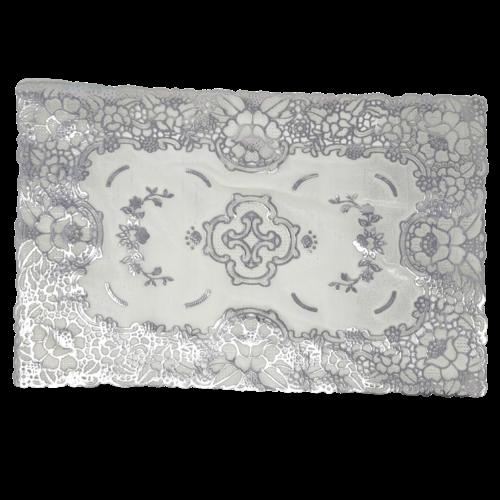 Decorative Place Mats - Silver