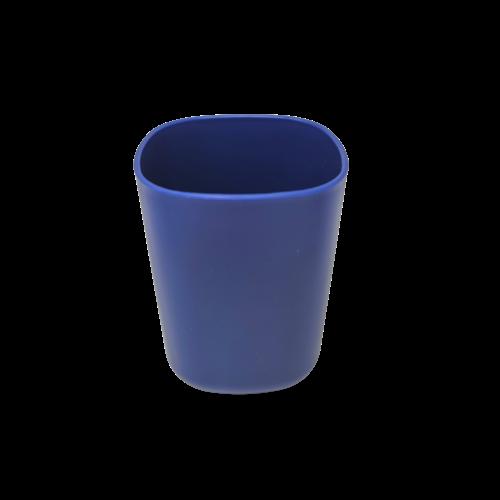 4Pcs Bath Accessory Set - Navy Blue