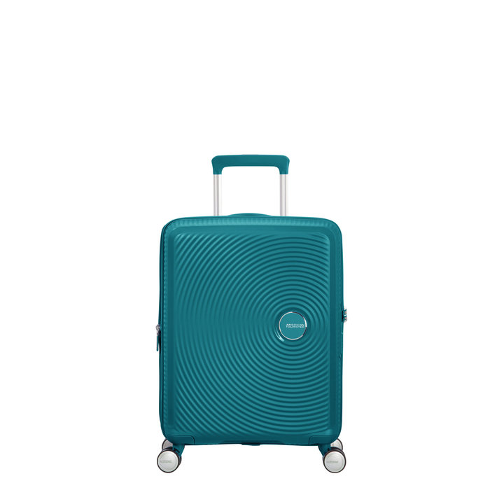 AMERICAN TOURISTER *American Tourister Curio Spinner Carry-On Luggage/ Colour: Jade Green
