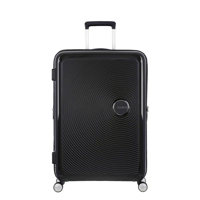 AMERICAN TOURISTER *American Tourister Curio Spinner Medium Luggage/ Colour: Bass Black