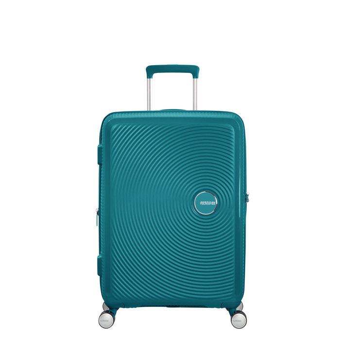 AMERICAN TOURISTER *American Tourister Curio Spinner Medium Luggage/ Colour: Jade Green Medium