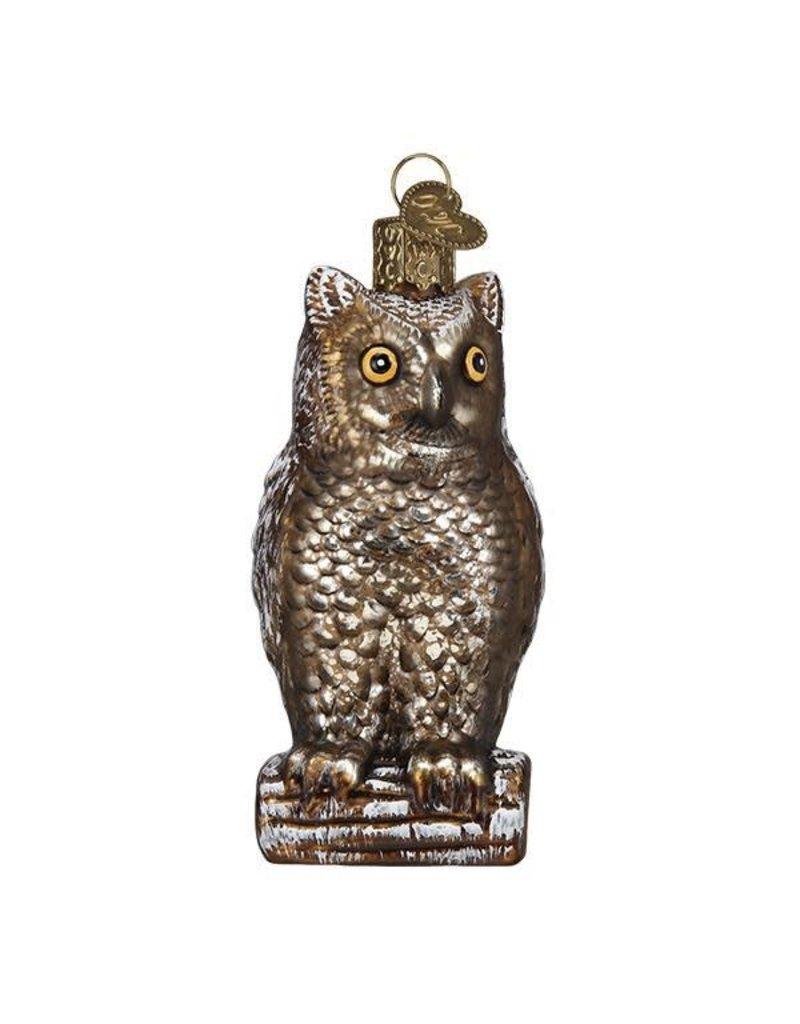 Vintage Wise Old Owl