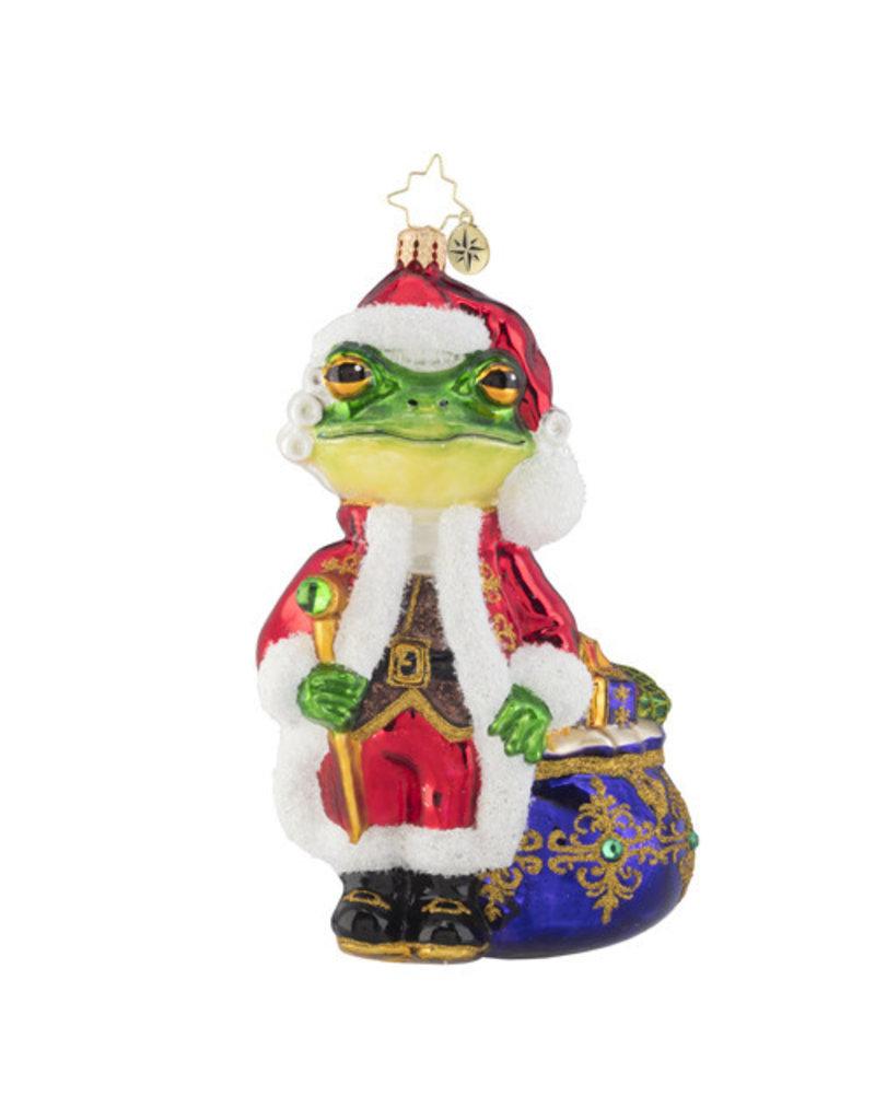 A Froggy Santa