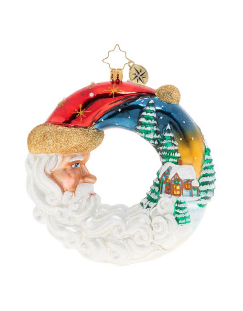 Santas Silent Night Wreath