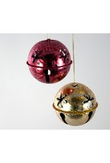 Frosted Christmas Bell Ornament