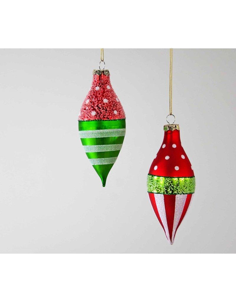 Dot/Stripe Sphere Ornament
