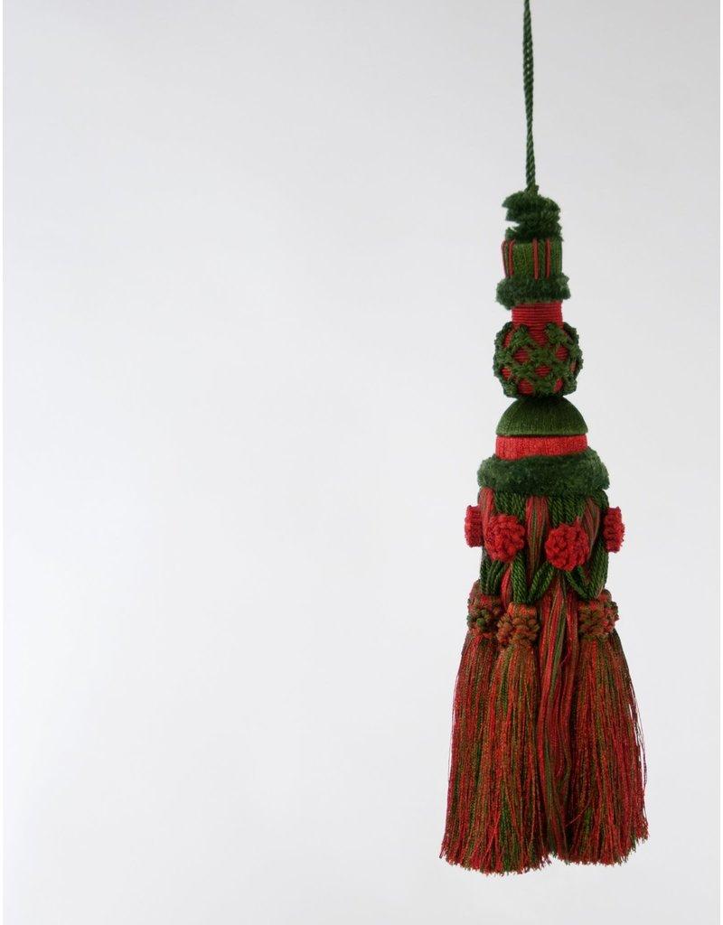 Red/Green Tassel Ornament