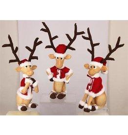 """23.6"""" Mache Funny Deer"""