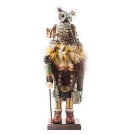 Hollywood Owl Hat Woodsman Nutcracker