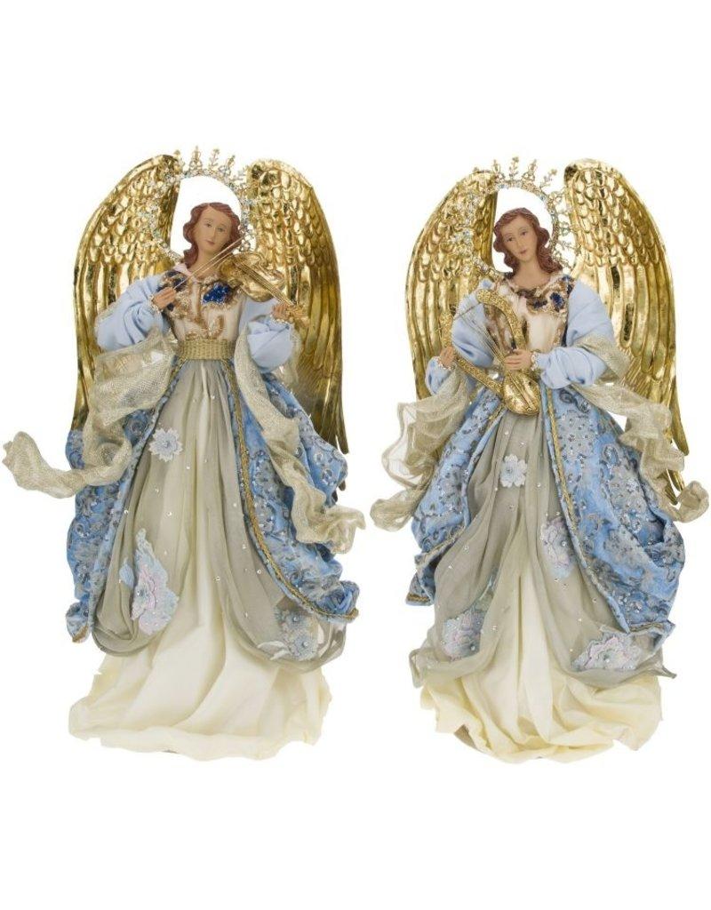 *C* Standing Flowering Angel
