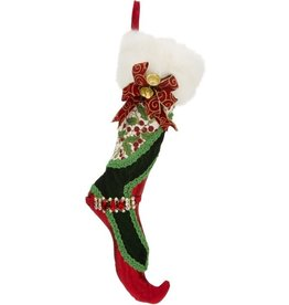 Holly and Ivy Stocking