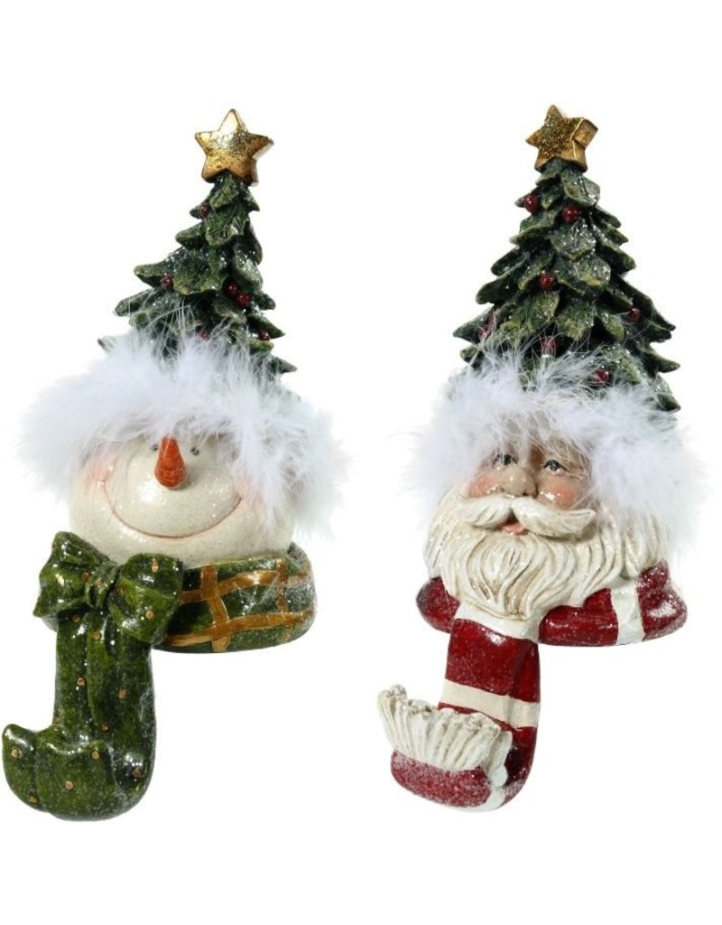 Santa/Snowman Stocking Holders