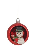 Ornamental Snowman Ornament
