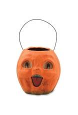 Vintage Pumpkin Bucket - Small