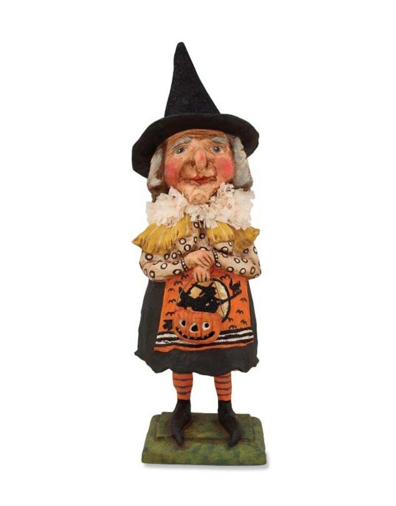 Old Witch w/ Jack o Lantern