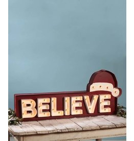 Believe Marquee Sign