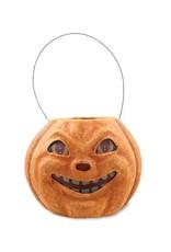 Vintage Pumpkin Bucket - Large