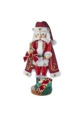 Jingle Bell Santa Nutcracker