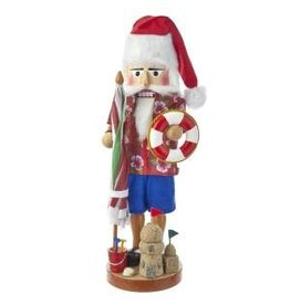Beach Santa Nutcracker