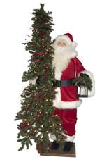 *C* Classic Joy Santa Figure