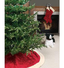 *C* Christmas Rose - Tree Skirt