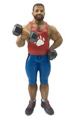Gym Bear Ornament
