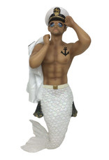 Anchors Aweigh Merman Ornament