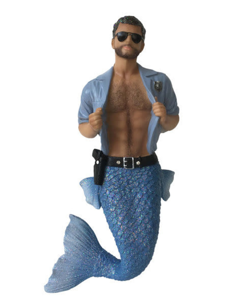 Strip Search Merman Ornament