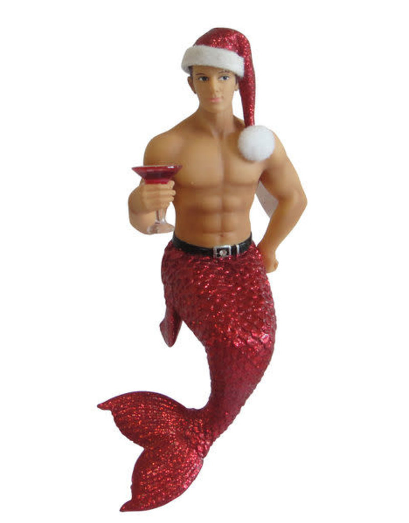 Jingle Merman Ornament