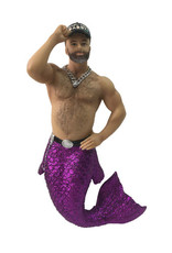 Who's Your Daddy Merman Ornament