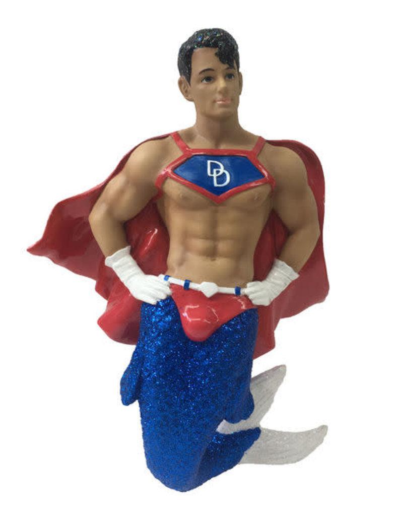 Superhunk Merman Ornament