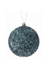 "4"" Glitter/Beaded/Ice Ball Ornament"