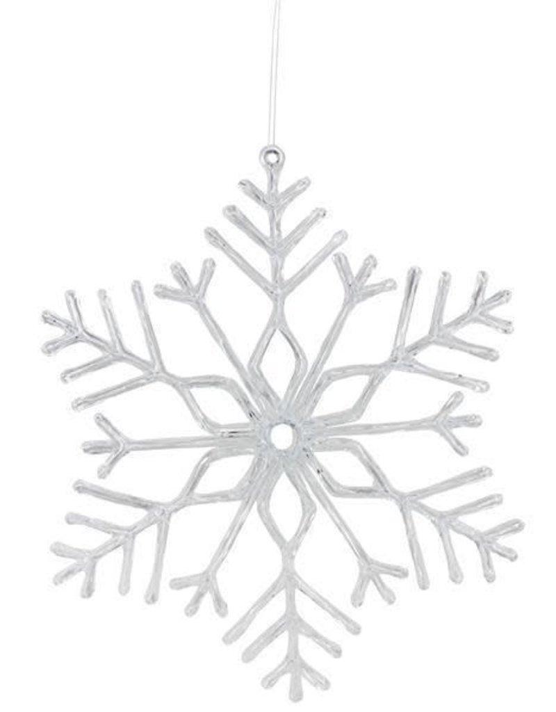 "18"" Acrylic/Wire Snowflake Ornament"
