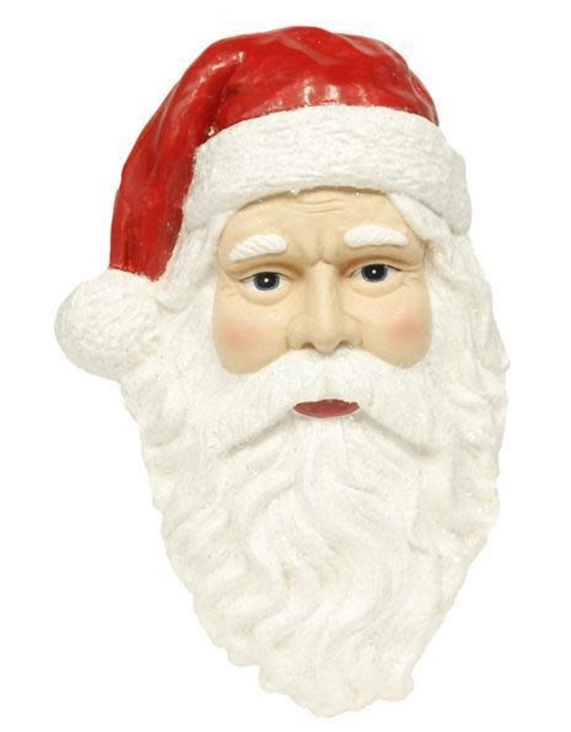 "18"" Paper Mache Santa Head"