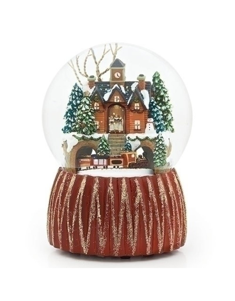 "6.5""H MUSICAL VILLAGE DOME"