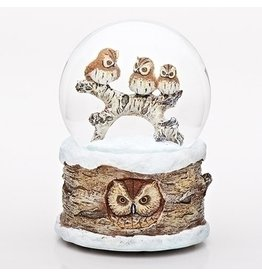 "6""H MUSICAL OWL DOME"