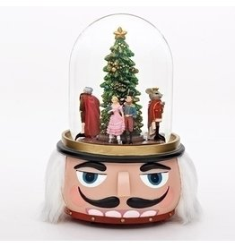 "8""H MUSICAL NUTCRACKER DOME"
