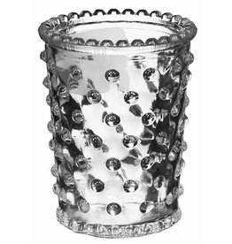 "3.5"" x 2.5"" Hobnail Glass Votive Clear"