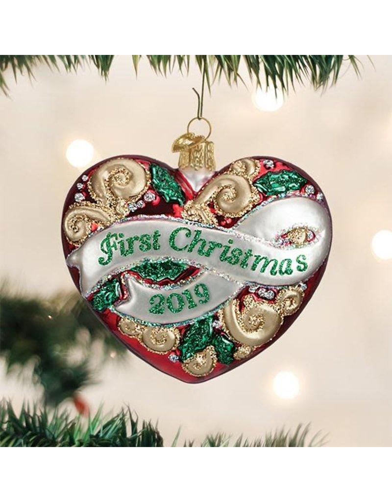 2019 First Christmas Heart