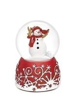 """Musical 5"""" Cardinal Eats Snowman 80mm"""