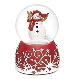 "Musical 5"" Cardinal Eats Snowman 80mm"