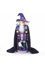 """18"""" Purple Wizard Nutcracker"""