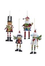 """6"""" Santa / Snowman / Soldier / Penquin"""