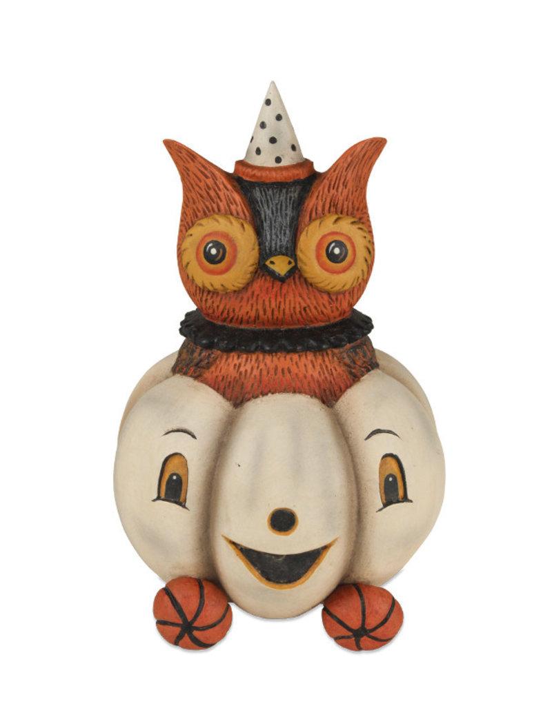owlbert pumpkin carriage