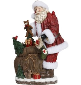 "Santa w/toys 18.5"" Mark Roberts"
