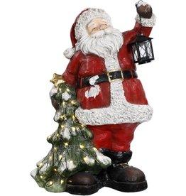 "Santa w/christmas tree 26"" Mark Roberts"