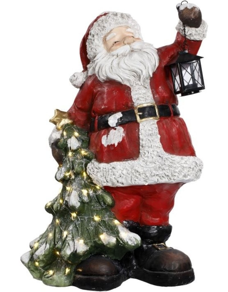 "Santa w/christmas tree 26"" Mark Roberts"