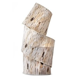"""4"""" x 10y Frosted Birch Ribbon"""