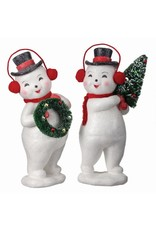 """13"""" Retro Snowman"""