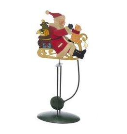 "13"" Santa in Sleigh Pendulum"